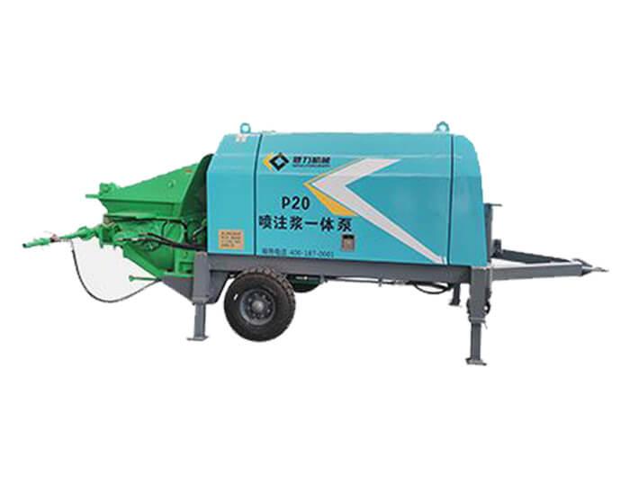 P20 Electric shotcrete pump