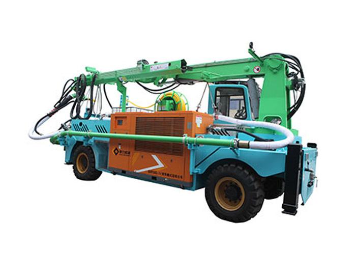GHP30G-IVB Truck-mounted Robot Shotcrete Machine