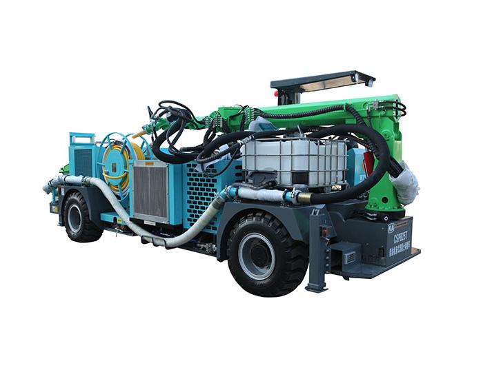CSPB25T Diesel Truck-mounted Robot Shotcrete Machine
