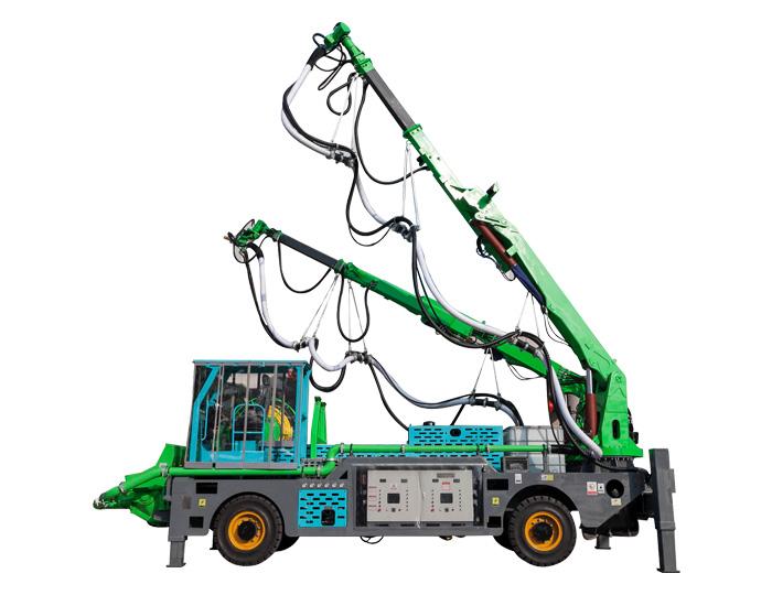 GHP6015G-II Double-arm Truck-mounted Robot Shotcrete Machine