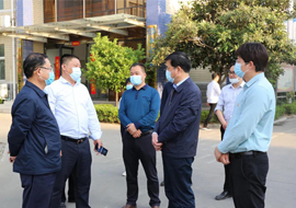 City leaders visited Gengli for investigation