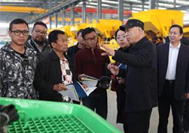 Indonesian customers visited Geng Li company