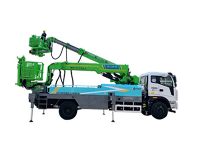 GJT1500 Truck-mounted vertical arch frame trolley