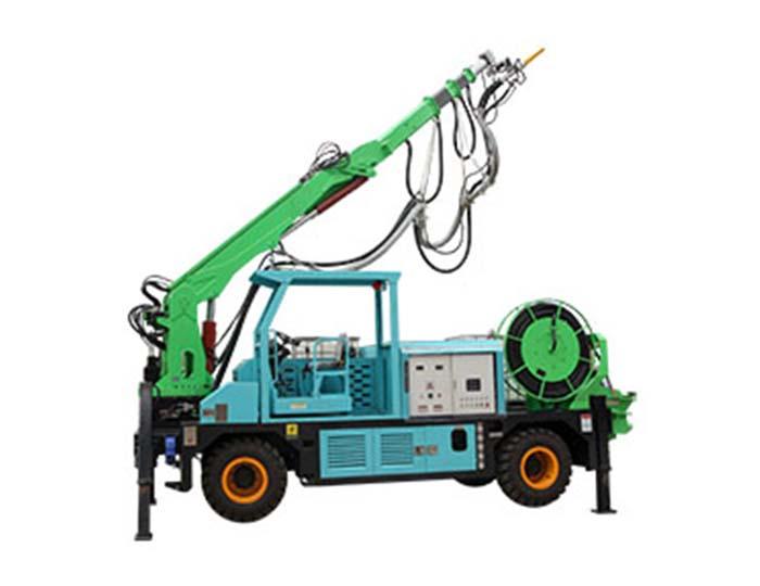 GHP3015D Engineering Truck-mounted Robot Shotcrete Machine