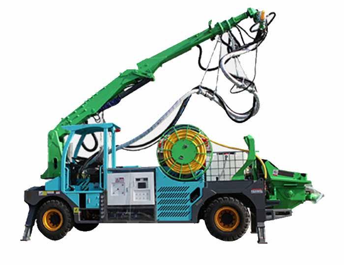 GHP3017E Engineering Truck-mounted Robot Shotcrete Machine